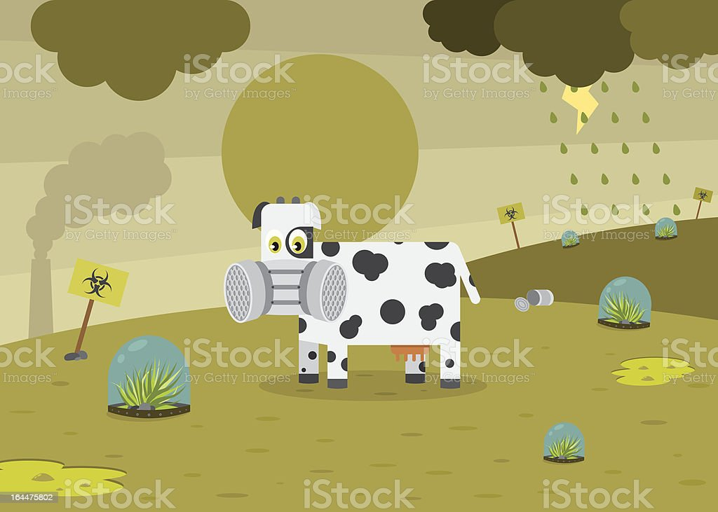 Environment Pollution royalty-free stock vector art