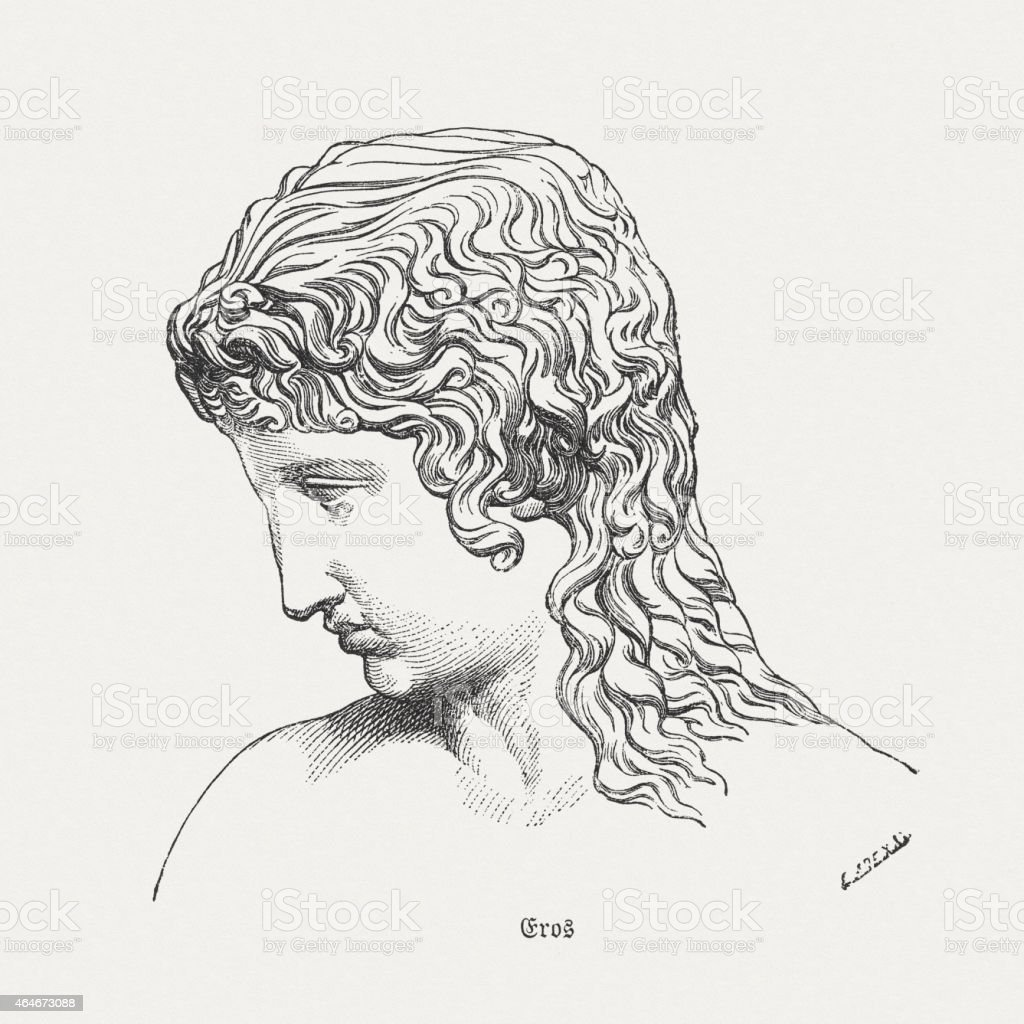 Eros god of love in the greek mythology published 1882 stock vector eros god of love in the greek mythology published 1882 royalty free eros biocorpaavc Images