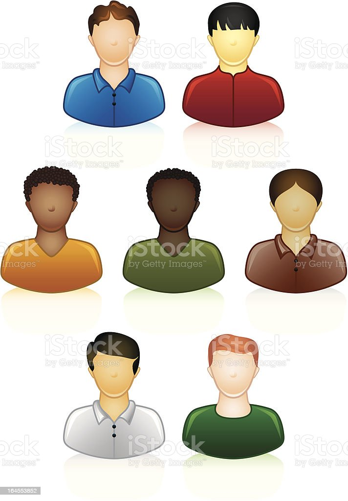 Ethnic people icons royalty-free ethnic people icons stock vector art & more images of african ethnicity