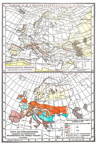 Europa map ,Climatologist survey