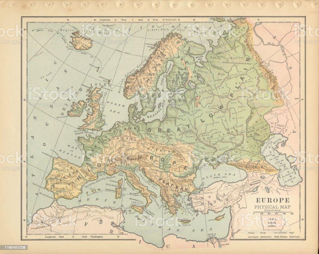 K303274sten Andalusien Karte.Physische Karte Skandinavien