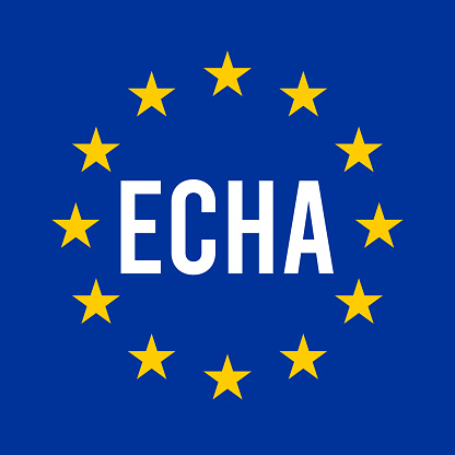 ECHA, European chemicals agency symbol