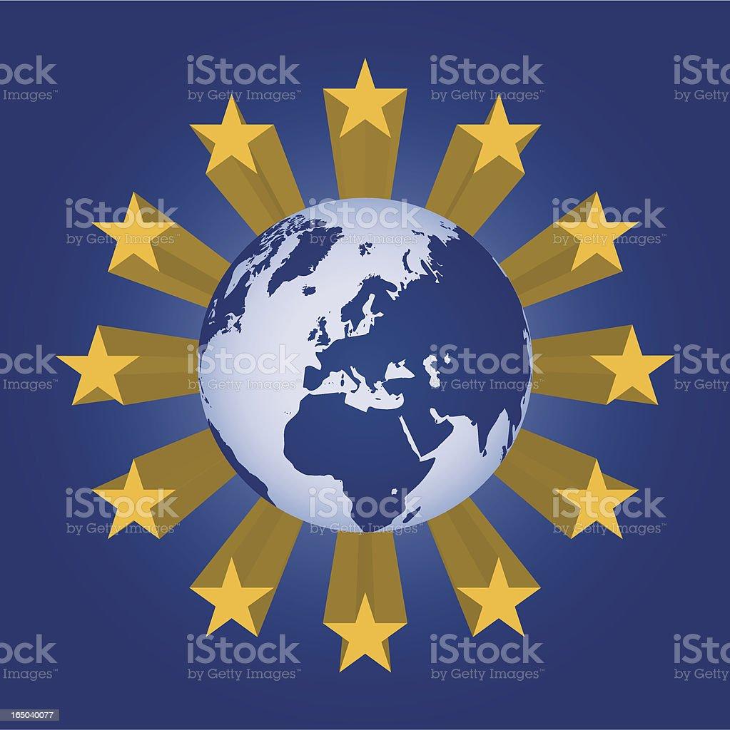 European Union royalty-free stock vector art