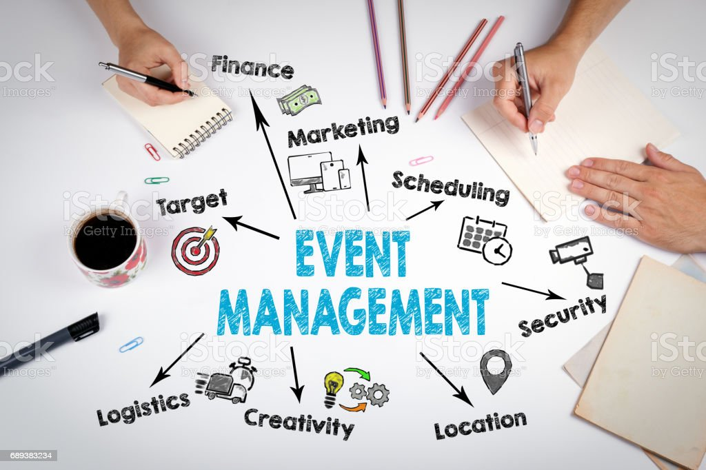 Event Management Concept The Meeting At The White Office