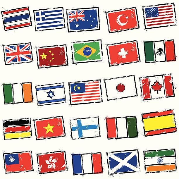 everybodys stampin'も - アイルランドの国旗点のイラスト素材/クリップアート素材/マンガ素材/アイコン素材