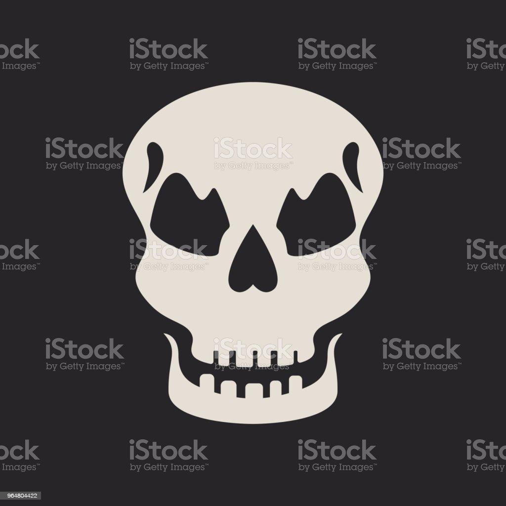 Evil skull icon royalty-free evil skull icon stock vector art & more images of art