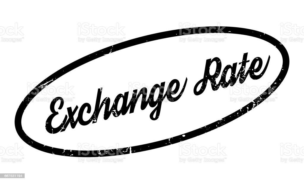 Exchange Rate rubber stamp exchange rate rubber stamp - immagini vettoriali stock e altre immagini di close-up royalty-free