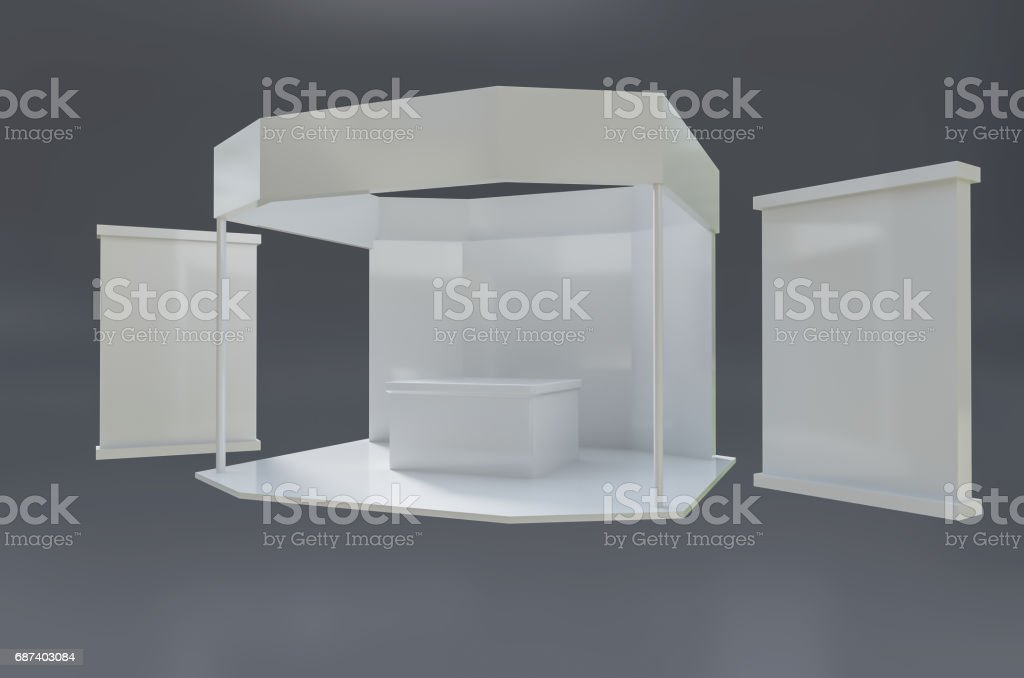 Exhibition Stand Template : Exhibition stand template stock vector art more images of