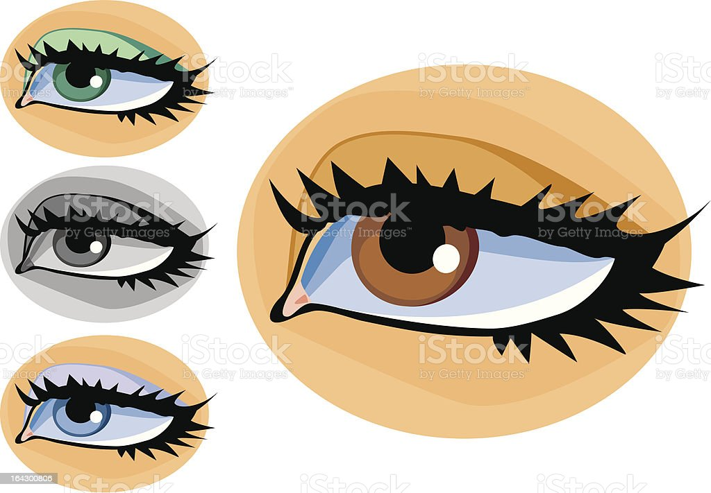 eyes royalty-free eyes stock vector art & more images of adult