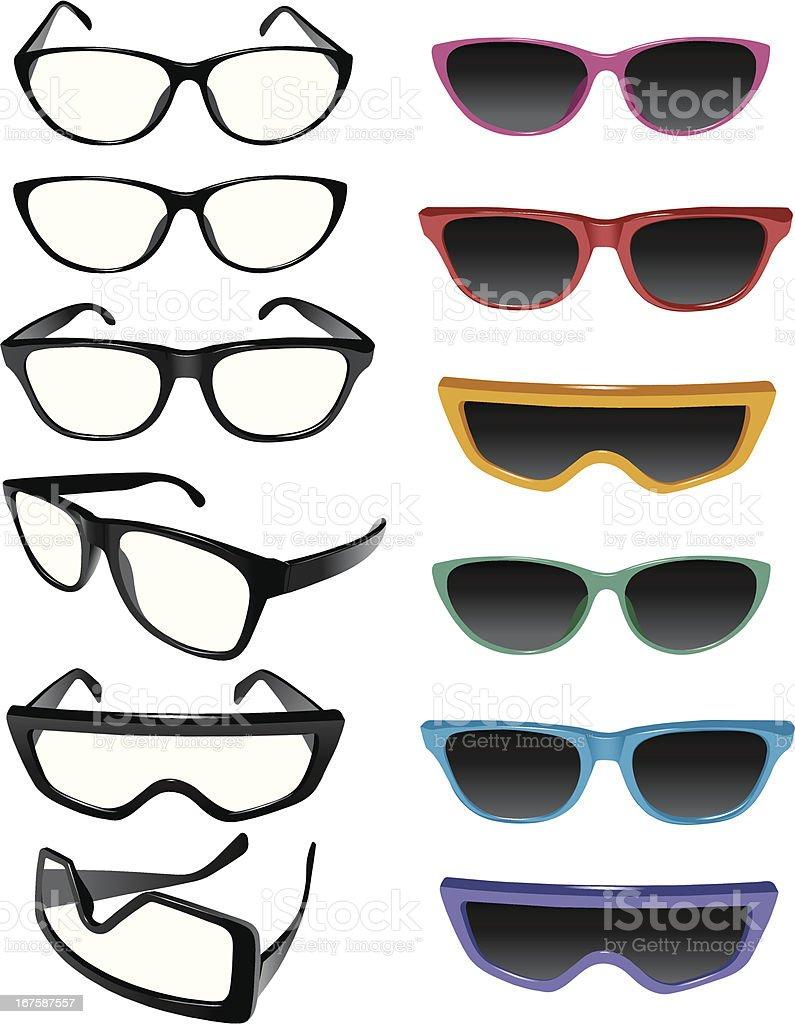 Eyewear royalty-free eyewear stock vector art & more images of beauty