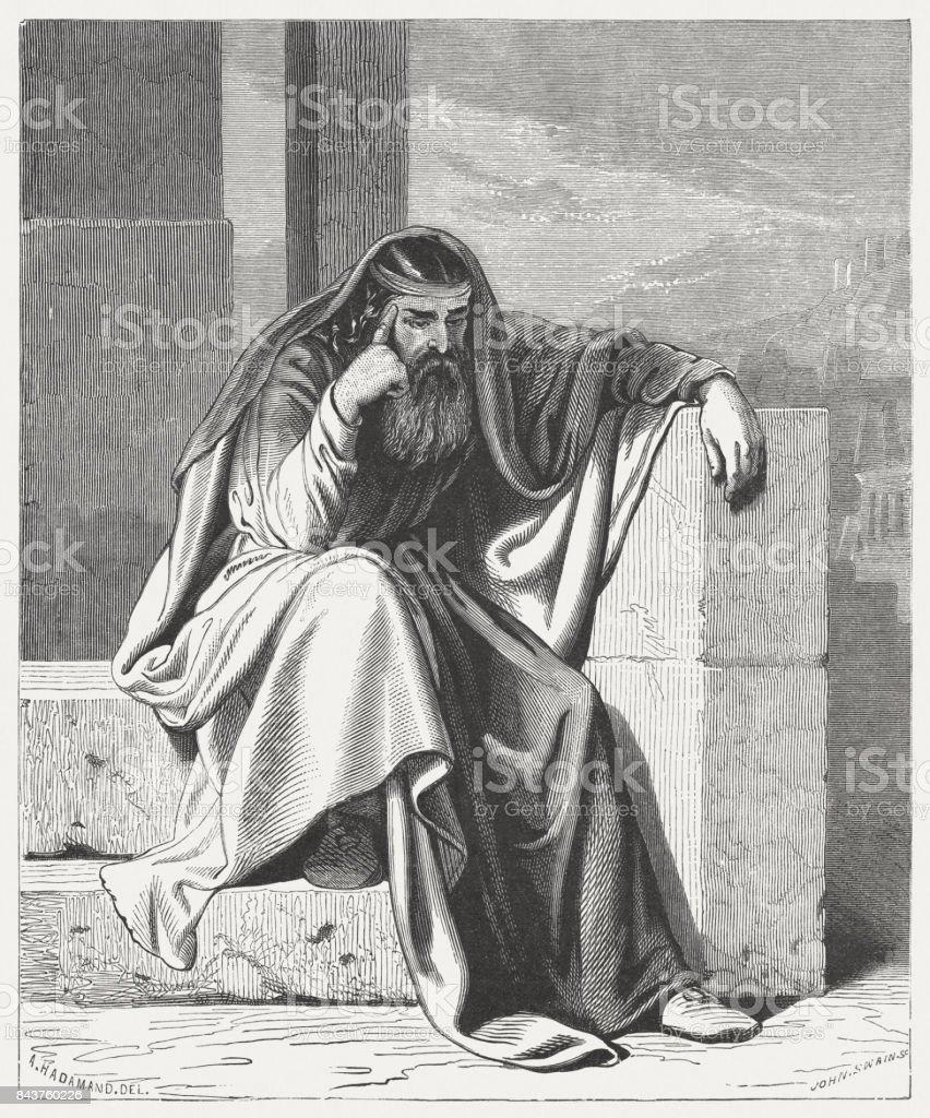 エゼキエル 彼の妻の死を悼む - ...