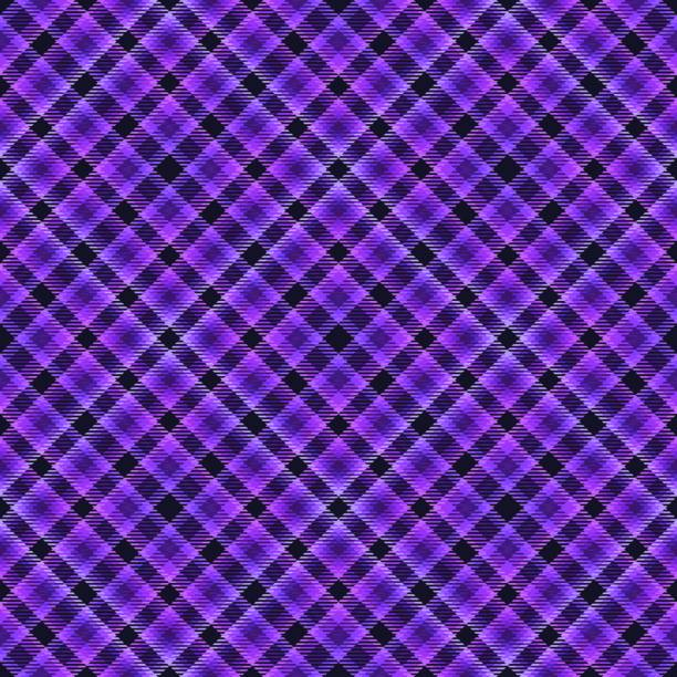 fabric diagonal tartan, pattern textile,  seamless retro. - stripped pattern stock illustrations, clip art, cartoons, & icons