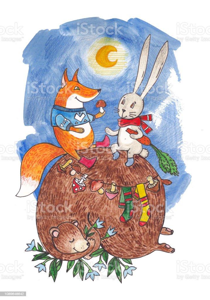 Fuchs winterschlaf