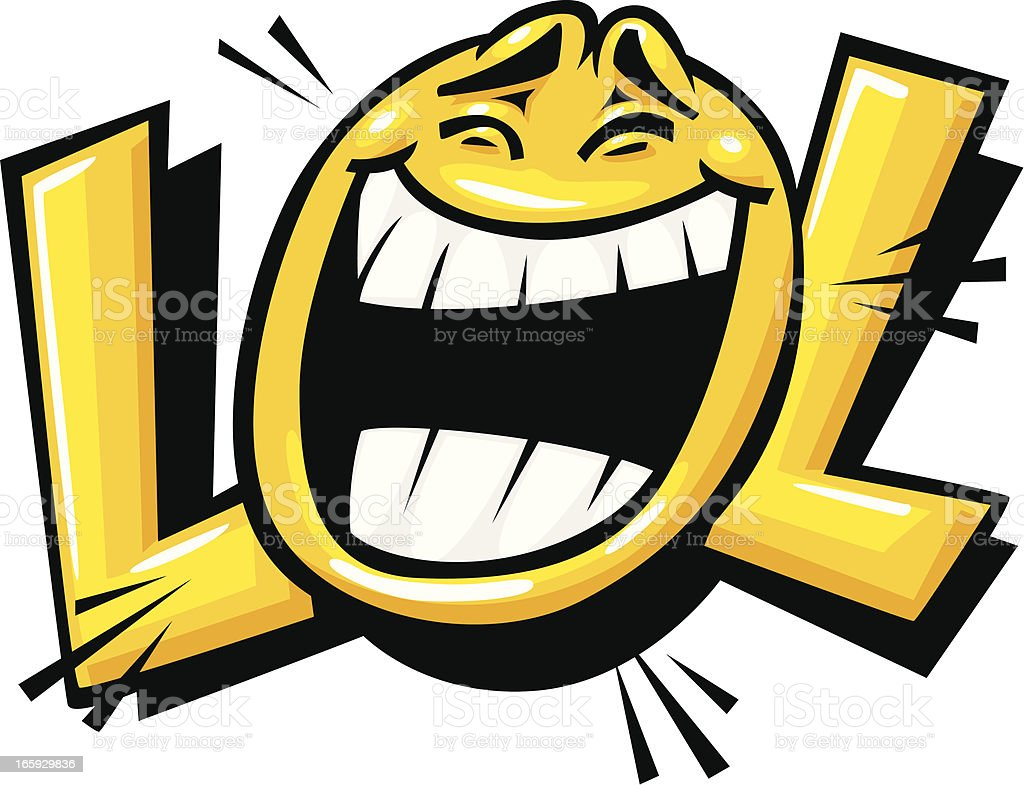 royalty free laugh clip art vector images illustrations istock rh istockphoto com lol clip art images lol doll clipart