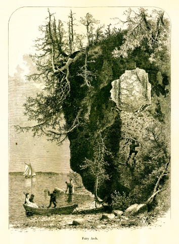 Fairy Arch, Mackinac Island, Michigan
