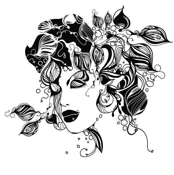 Fairy vector art illustration