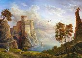 istock Fairy kingdom 161844880