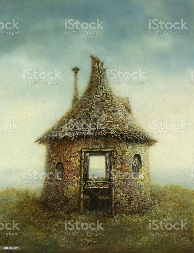 Fairy tale house royalty-free stock vector art