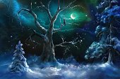 istock fairy winter night 1183432783