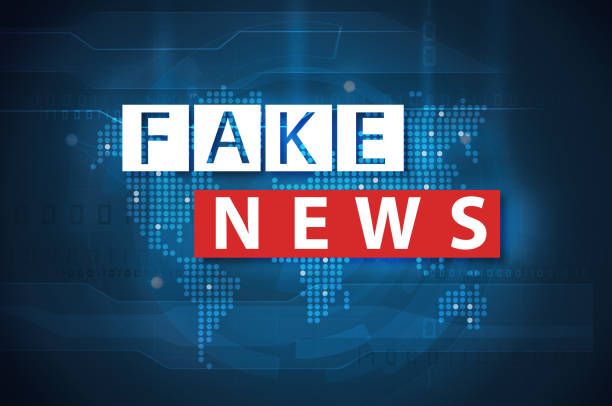fake news and misinformation concept fake news and misinformation on internet concept artificial stock illustrations