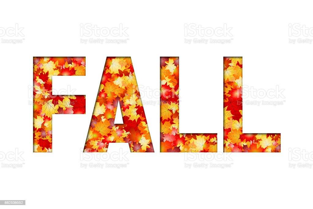 Fall illustration vector art illustration
