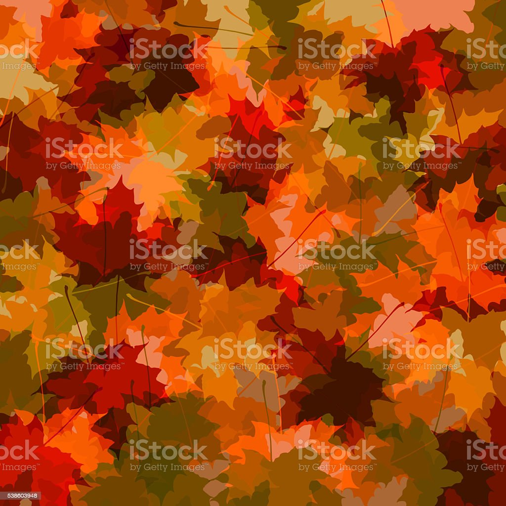 fall leaves background illustration stock vector art more images