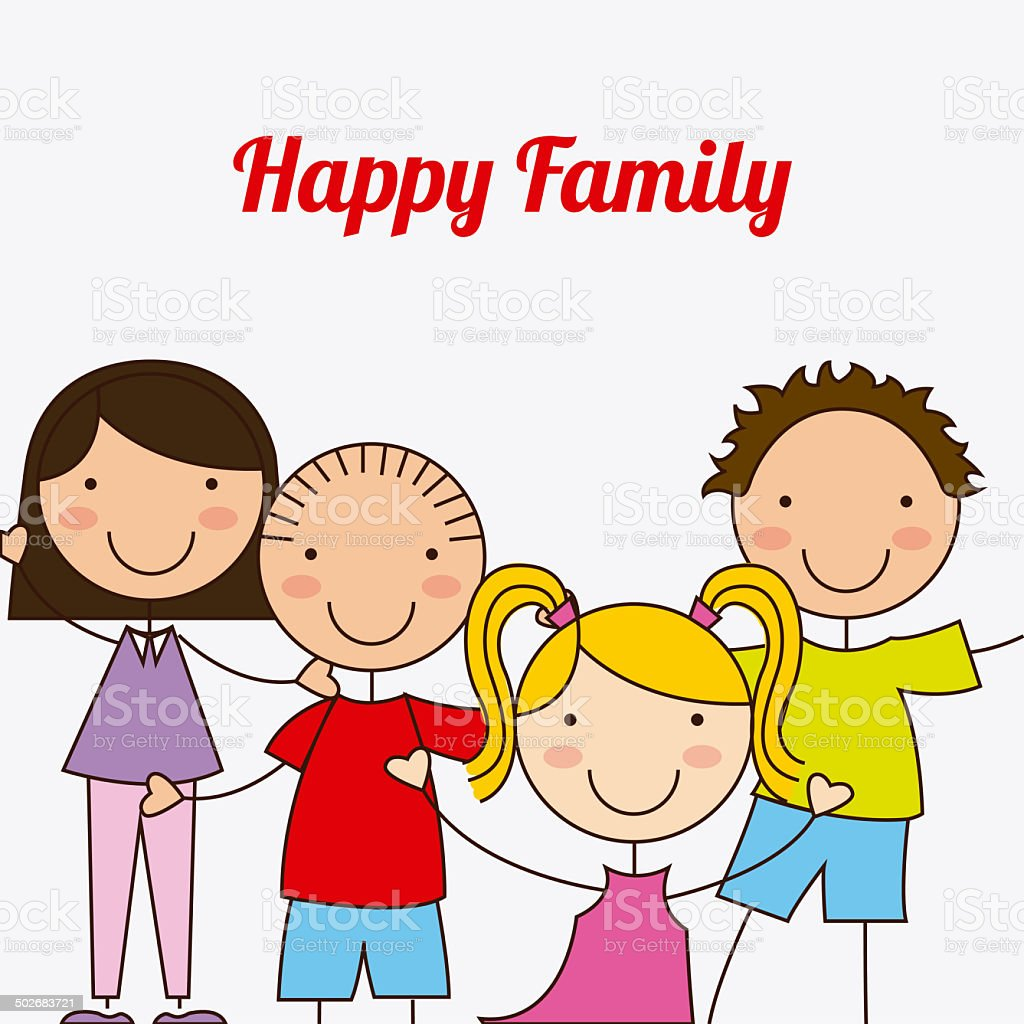 family design royalty-free stock vector art