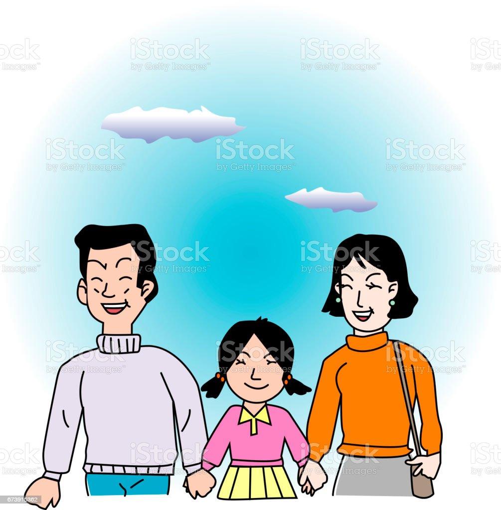 La famille la famille – cliparts vectoriels et plus d'images de adulte libre de droits
