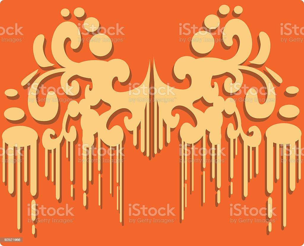 Fancy Deco Banner royalty-free stock vector art