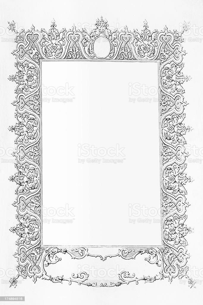 Fancy frame royalty-free fancy frame stock vector art & more images of ancient
