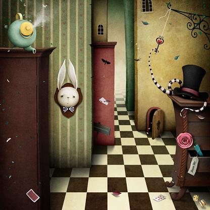 Fantasy Background Wonderland