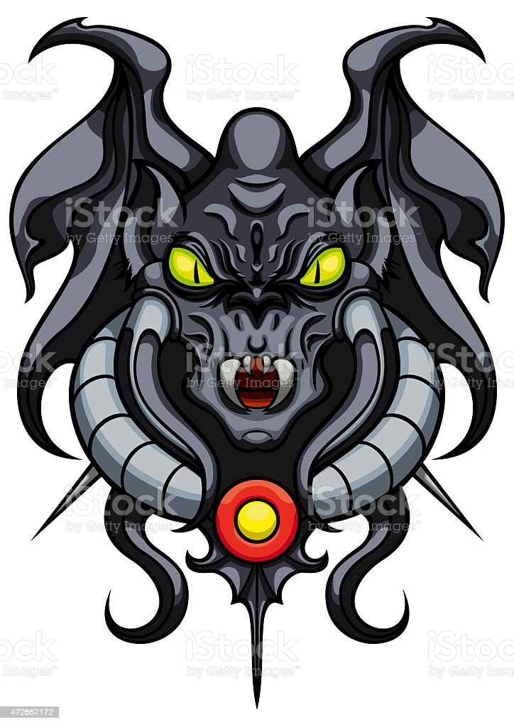 royalty free gargoyle devil demon animal wing clip art vector rh istockphoto com