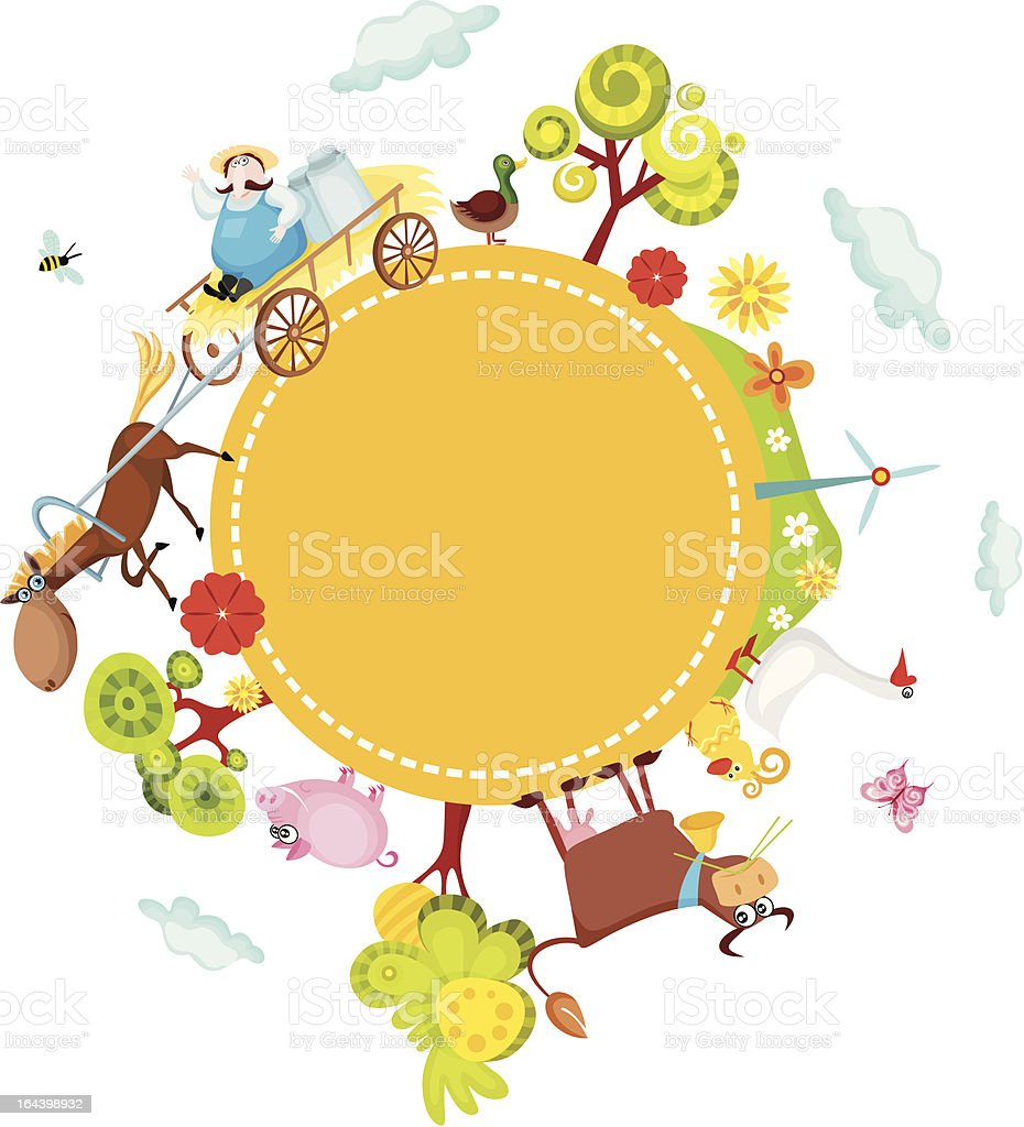 farm card royalty-free farm card stock vector art & more images of agriculture