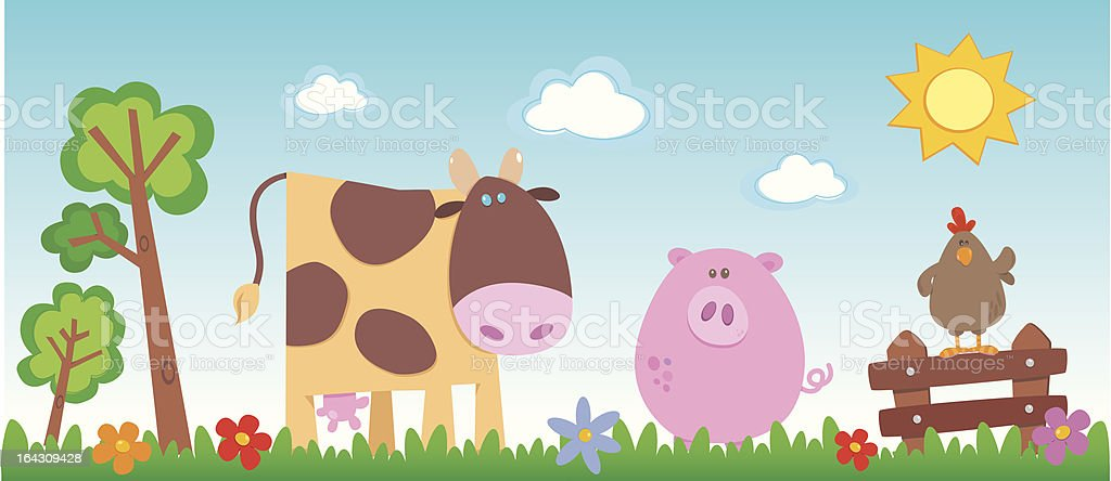 farm royalty-free stock vector art
