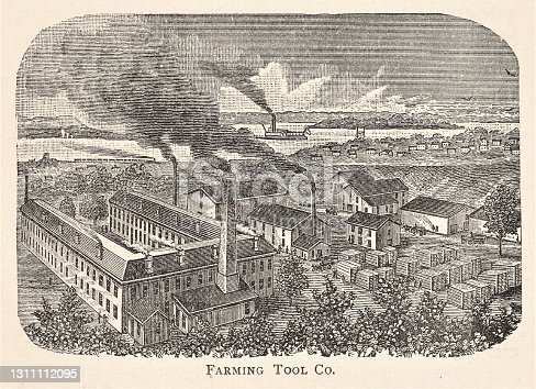 istock Farm Tool Company Fort Madison, Iowa 1886 1311112095
