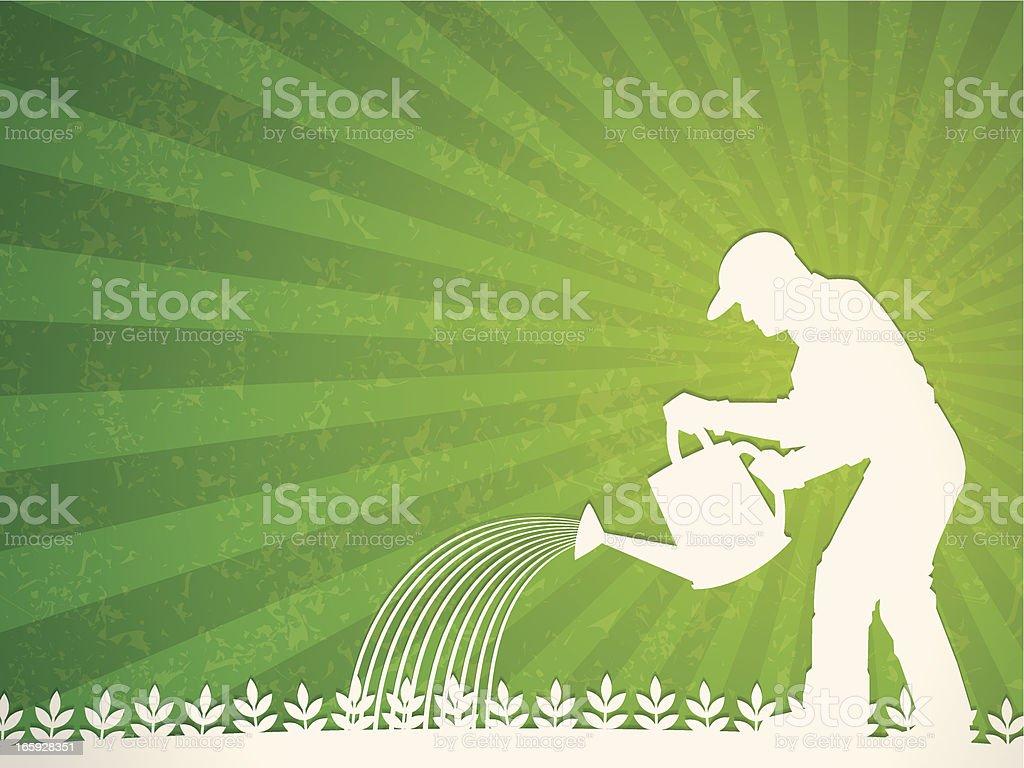 farmer background royalty-free stock vector art