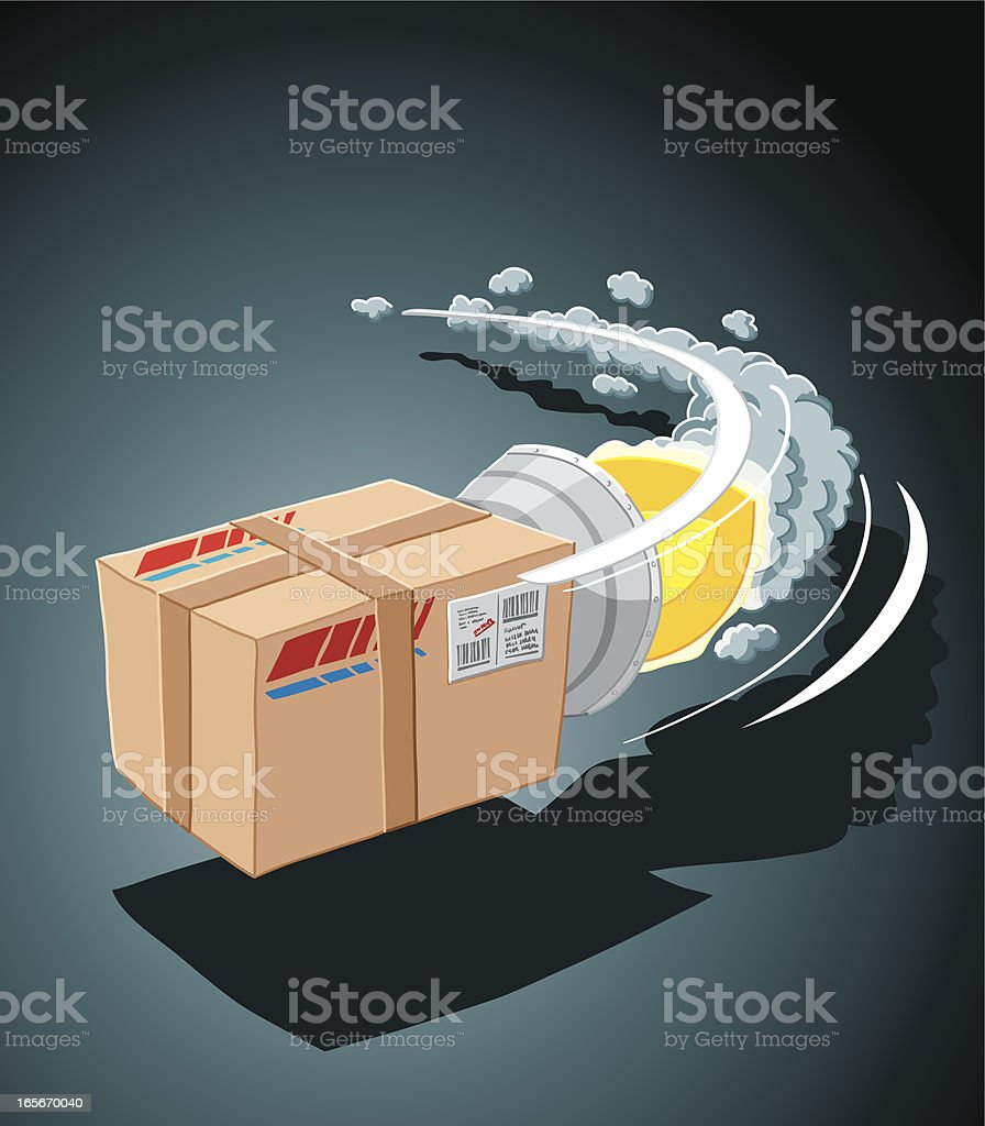 Fast Delivery royalty-free fast delivery stock vector art & more images of clip art