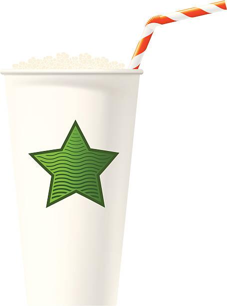 Fast drink vector art illustration