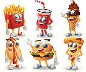 Meet the fast food friends!