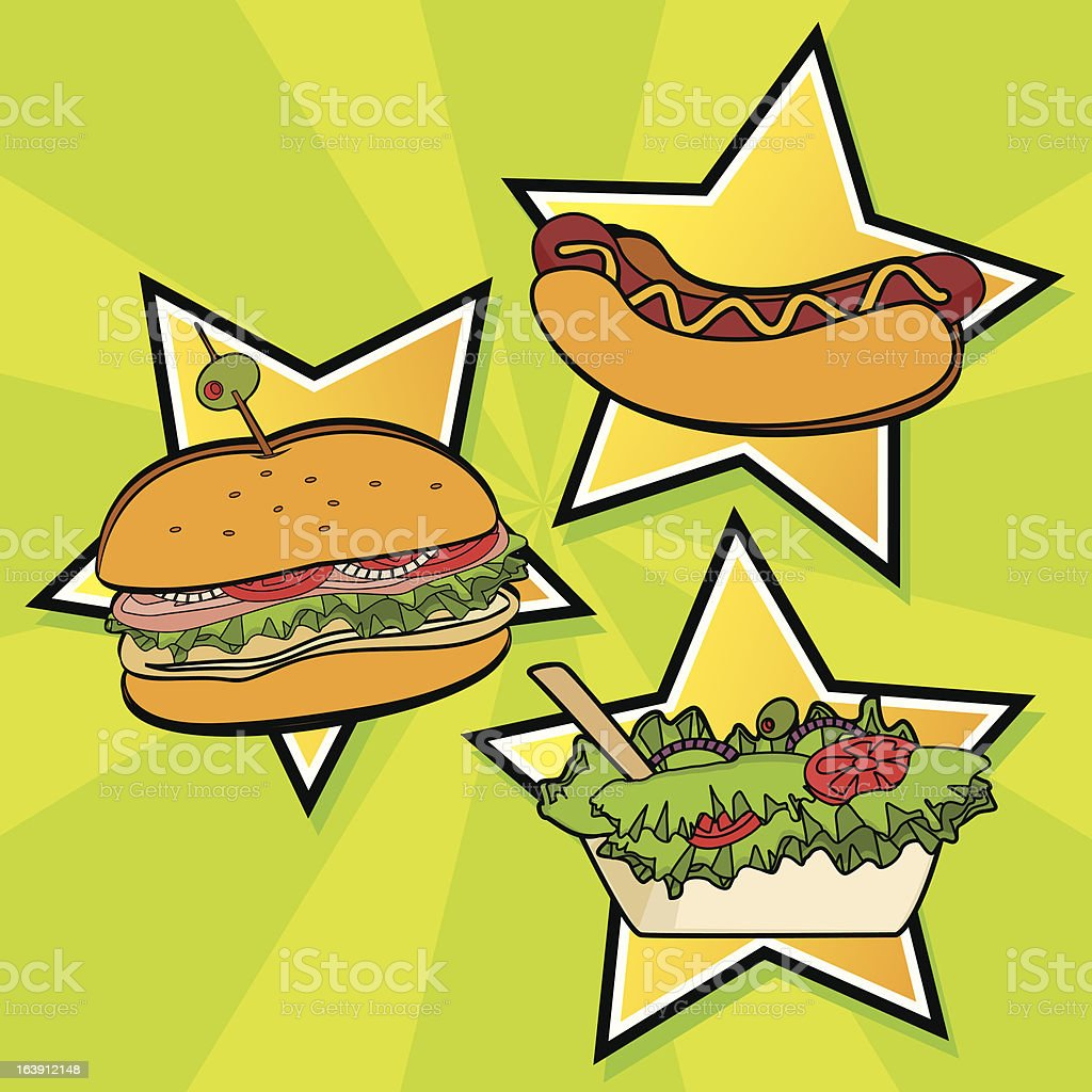 Fast Food royalty-free fast food stock vector art & more images of american culture