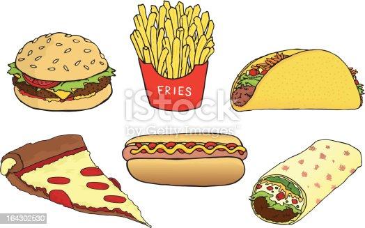istock Fast Food 164302530