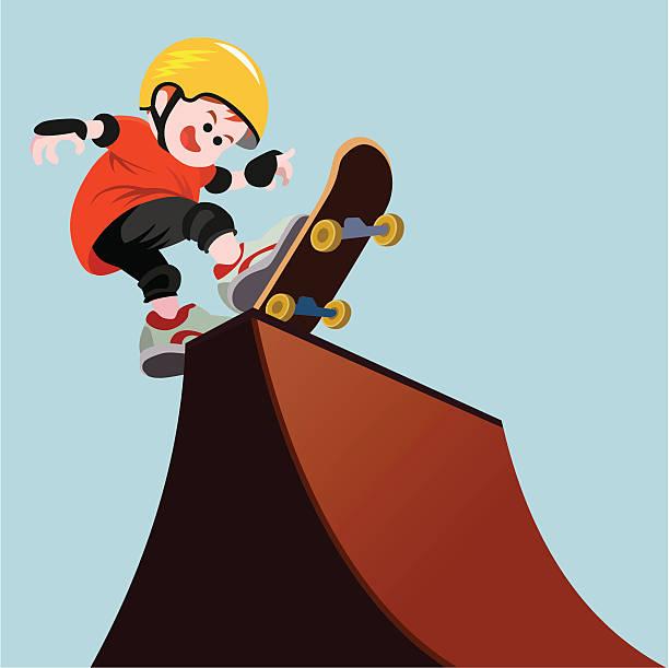 bildbanksillustrationer, clip art samt tecknat material och ikoner med fat boy skate - skatepark