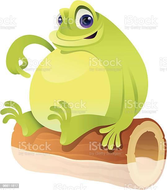 Fat Frog-vektorgrafik och fler bilder på Amfibie