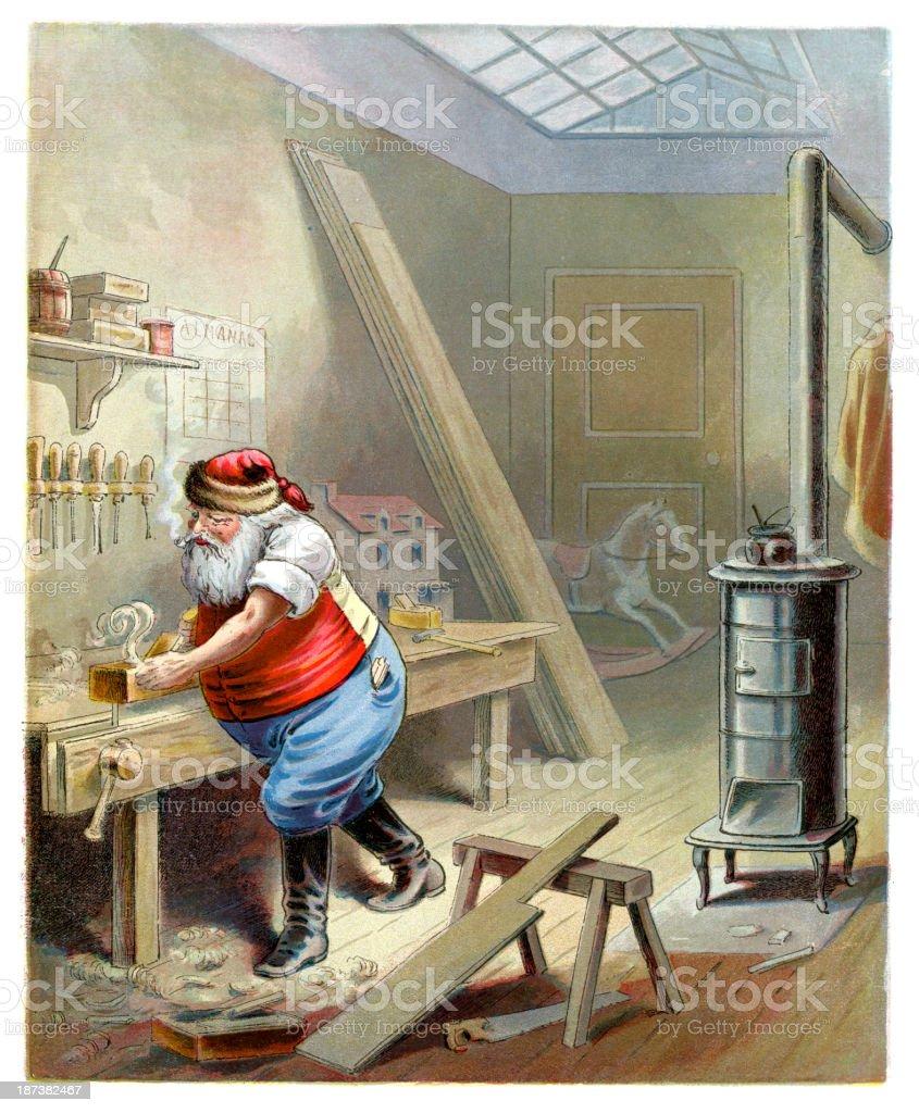 Père Noël - Illustration vectorielle