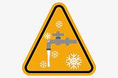 istock Faucet frozen 1295873841