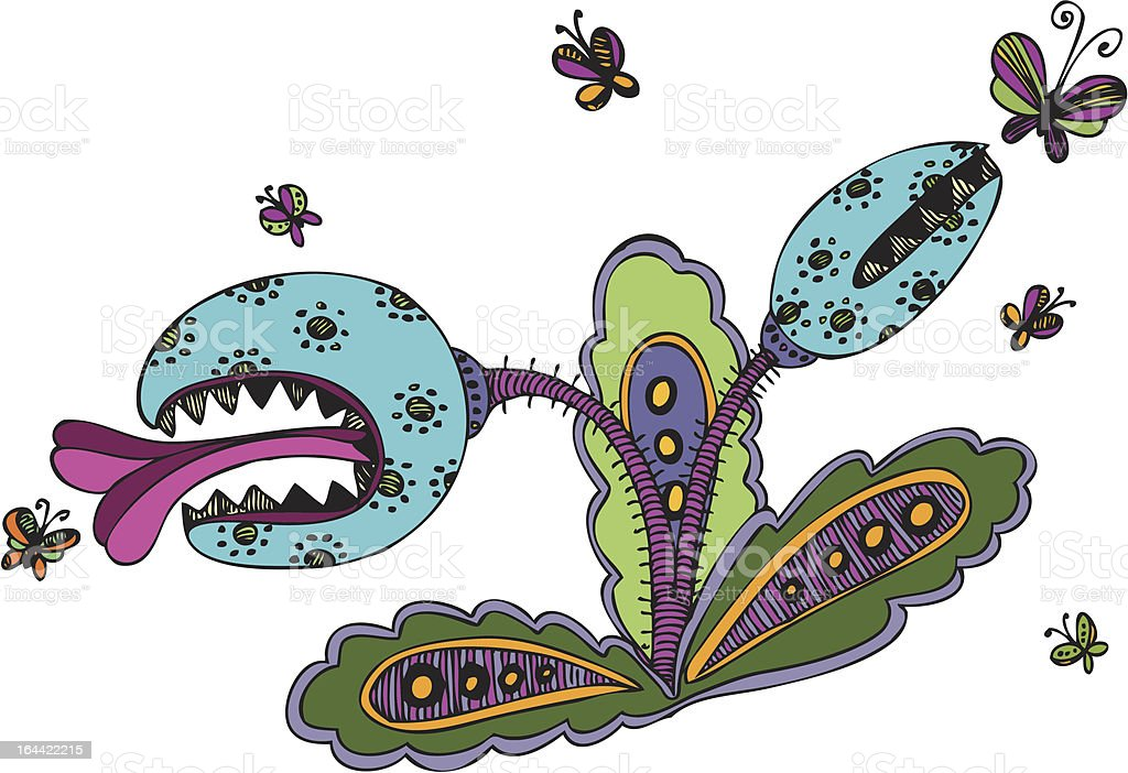 fearful flower royalty-free fearful flower stock vector art & more images of animal