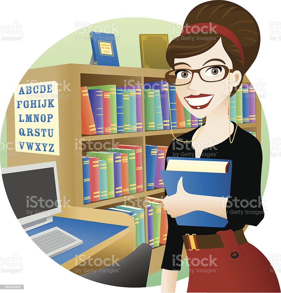 royalty free librarian clip art vector images illustrations istock rh istockphoto com library clip art free library clip art free