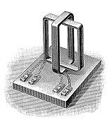 istock Ferrari's Rotating magnetic field 1215748167