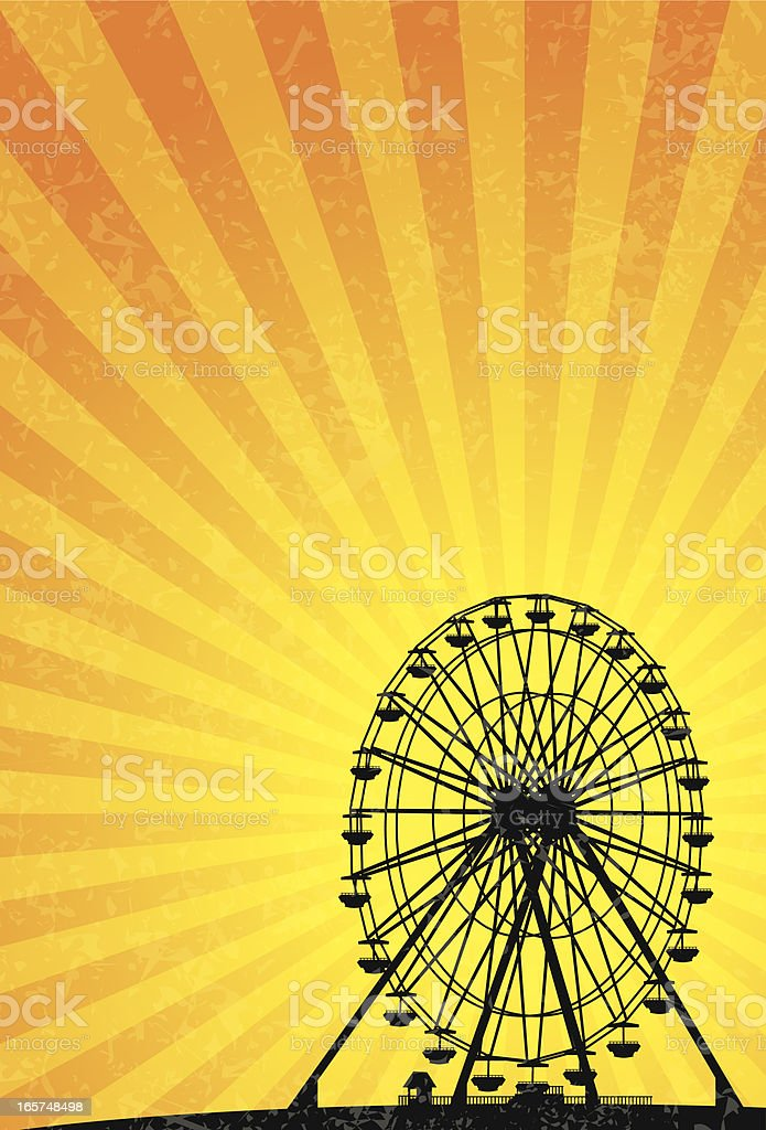 ferris wheel royalty-free ferris wheel stock vector art & more images of agricultural fair