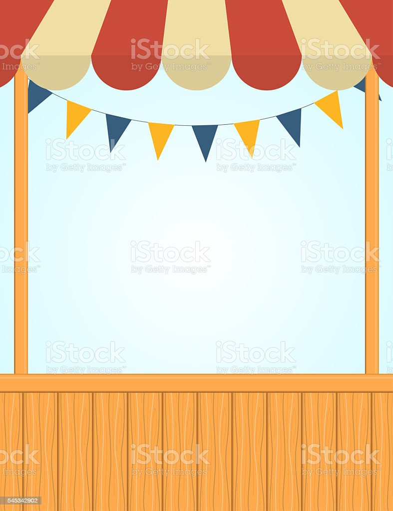 Royalty Free Carnival Booth Clip Art Vector Images